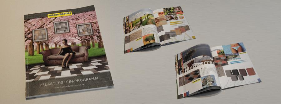 Haba Beton Mit Neuem Katalog Werbung Druck Baumgartner