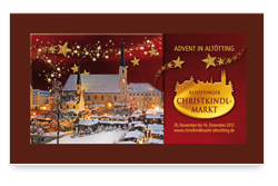 Christkindlmarkt - Adventsbroschüre